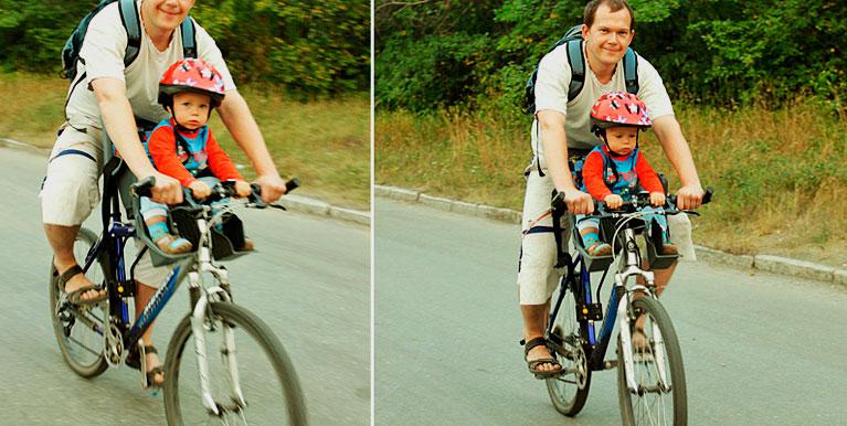 Велосидение для ребенка на раму